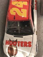 2017 Chevy Chase Elliott #24 Hooters Autographed Diecast COA 1 of 150