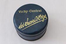 Boite ancienne publicitaire en tôle Vichy-Central sucres d'orge