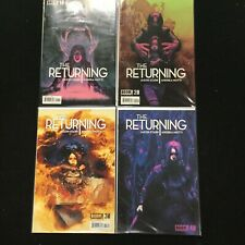THE RETURNING 2014 Boom Studios Complete Set 1-3