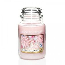 Yankee Candle 22oz Large Jar up to 35 off 2018 Fragrances Snowflake Cookie