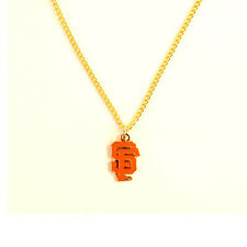 San Francisco Giants - MLB Team Logo Necklace with Chain - FREE U.S. Shipping !