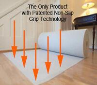 BEST QUALITY Anti-Slip RUG TO CARPET GRIPPER ANTI CREEP RUG Underlay 100X150CM
