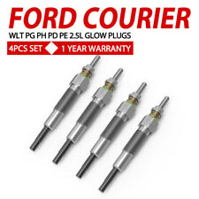 4PCS Glow Plugs FIT FORD COURIER 2.5L WLT PG PH PD PE Turbo Diesel 96-06 Set