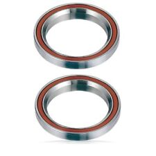 "2 Headset Bearings Bike-Bicycle-Pro Scooter 1-1/8"" 45°/45° Integrated threadless"
