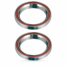 "2x Headset Bearings Bike-Bicycle-Pro Scooter 1-1/8"" 45°/45° MR121 Integrated"