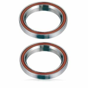 """2 Headset Bearings Bike-Bicycle-Pro Scooter 1-1/8"""" 45°/45° Integrated threadless"""