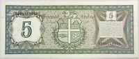 ARUBA - 5 DOLLARS 1986 - Billet de banque NEUF