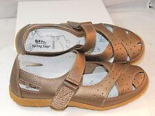 Spring Step Streetwise Bronze Cuir Babies Chaussures USA Sz