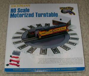 Bachmann HO Scale Motorized Turntable - DCC Ready - #46299 w/OB - NIB - L@@K