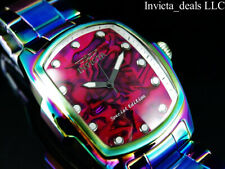 NEW Invicta Men's GRAND LUPAH Abalone MOP Dial IRIDESCENT Stainless Steel Watch