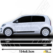 Fits VW Up Racing Stripes Stickers Decal Tuning Car Graphics Size 154x8.5 Cm