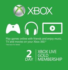 Xbox Live Gold 48hr 48hours 2 day Trial code Digital Delivery Instant Dispatch