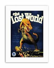 LOST WORLD CONAN DOYLE VENTURE FANTASY DINOSAUR USA Poster Picture Film Canvas
