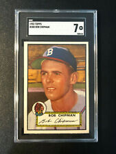 1952 Topps #388 Bob Chipman Braves SGC 7 High Number PSA Set Break