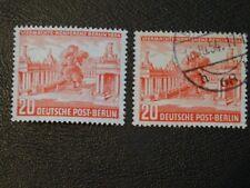 Germany Stamps Berlin (Western Sectors) SG B113 VLMM & FU issued 1954 Wmk 230.