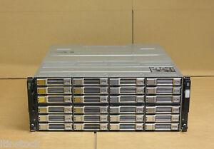 Dell EqualLogic PS6110XV Virtualized 10GbE iSCSI SAN Storage 24x 600GB 15K HDD
