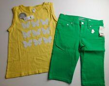 NWT GAP/Celebrity Pink Girl's 2 Pc Flip Sequin Tank Top/Skimmer Shorts XL/12