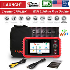 LAUNCH Scan Tool CRP129X OBD2 Scanner Auto Code Reader Engine ABS SRS as CRP129E