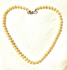 Women's Necklace real FreshWater Pearls Sterling Silver Clasp Made In Brazil