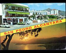 SAN PEDRO DE ALCANTARA / MARBELLA (ESPAGNE) RENAULT R8 & SIMCA aux COMMERCES