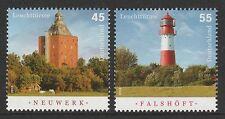 Germany 2010 Lighthouses SG 3660-3661 MNH