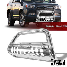 For 2010-2018 Toyota 4Runner Stainless Bull Bar Brush Push Bumper Grille Guard