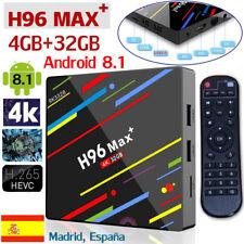 H96 Max Plus+ Android 8.1 Smart TV Box 4GB+32GB DDR3 USB 3.0 4K HD Media Player