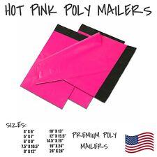 Hot Pink Poly Mailers Shipping Envelope Packaging Bags Self Sealing Mailing Bag
