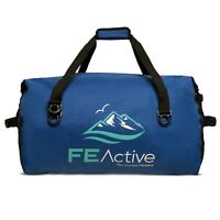 FE Active 60 Liters Duffel Dry Bag Sports Waterproof Travel Sack Camping Duffle