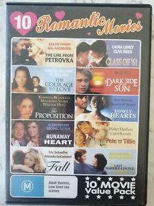 10 Romantic Movies - VALUE MOVIE SET - Rare DVD Aus Stock Region ALL