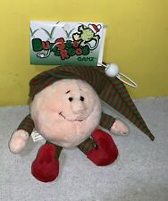 Ganz Bungee Roos Christmas Elf 6 Inch Plush HX5544 Stretch Cord New With Tags