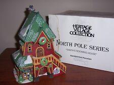 """Dept 56 """"Santa'S Rooming House"""" North Pole Series, Nib"""