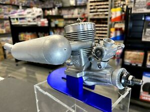 """Classic K+B .65 Sportster R/C Airplane Engine, """"Nicely Used"""" Clean w/Muffler"""