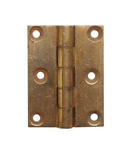 Corbin Five Knuckle 2 x 1.5 Brass Butt Hinge