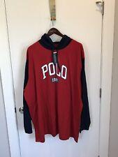 NWT POLO-RALPH LAUREN Pullover Hooded Sweatshirt 3XLT