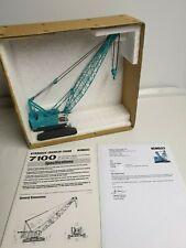 Rare - Kobelco 7100 Crane 1/60 UI Manufacturing Japan