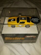 2006 HOT WHEELS SIZZLERS  70 CAMARO T/A YELLOW    NEW IN UN-OPENED DISPLAY CASE