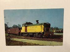 Vintage Postcard Sand Springs Railway's Number 102 Railroad Train Oklahoma