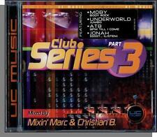 Club Series 3 - New 2000 Mixin' Marc & Christian B. Dance CD! 18 Songs!