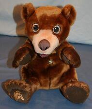 Disney Brother Bear Tumble N Laugh Koda Laughing Talking Plush Stuffed Animal