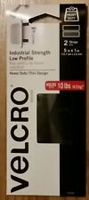 """Industrial Strength Low Profile 5""""x1"""" Velcro  93049 Heavy Duty Holds Up To 10lb"""