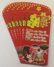 6pcs-set Red Envelopes, Bao Lì Xì - Ngàn Lần Như �, Vạn Lần Như Mơ.