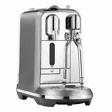 Sage The Creatista Plus Nespresso Kapselsystem Smoked Hickory  Kaffeemaschine