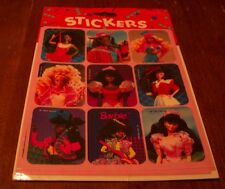 Gibson 1992 VINTAGE BARBIE 4 Sheets of STICKERS SEALED NEW