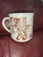 Vtg Sarah Kay Holly Hobbie Coffee Tea Mug Cup Ceramic