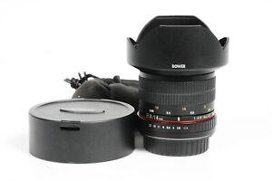 Bower 14mm f2.8 ED AS IF UMC Fisheye Lens Canon EF #902
