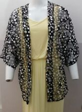 Polyester Kimono Coats & Jackets without Fastening for Women
