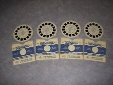 VINTAGE SAWYER'S VIEW MASTER LOT OF 4 REELS, 7 MORE WONDERS OF THE WORLD!