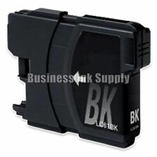 1 BLACK New LC61 Ink Cartridge for Brother MFC-495CW MFC-J410W MFC-295CN LC61BK