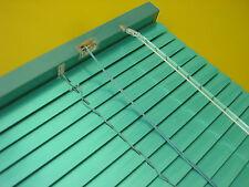 Aluminium Alu Jalousie Fenster Tür Rollo Jalousette Lamelle Mint Grün 70 x 220